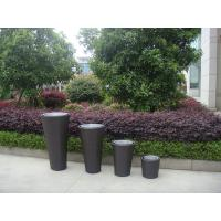 Wholesale UV Resistant Cane / Wicker Flower Pot For Restaurant Office Bar from china suppliers