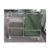 Wholesale Stainless Steel Dressing Trolley Push Cart Hospital Medical Trolley (ALS-MT14B) from china suppliers