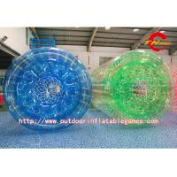 Wholesale Blue Inflatable Zorb Ball CE , Green Adult Bumper Balls 1.5m from china suppliers