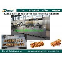 Wholesale Multinational oat chocolate cereal fruits nuts candy bar moulding machine / Snacks Making Machine from china suppliers