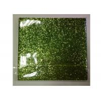 Wholesale Light Green Frosted Chunky Glitter Fabric 0.55mm Thickness For Shoes And Wallpaper from china suppliers