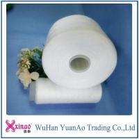 Wholesale 42/2 Sewing Thread 100% Spun Polyester Yarn On Dye Tube White from china suppliers