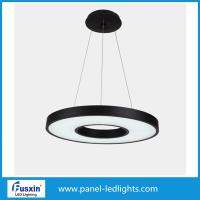Wholesale 70W Panel LED Lights , Minimalism Round Matte Metal Led Pendant Lighting from china suppliers