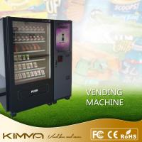 Wholesale Touch screen waiting room vending machine dispense snack soda cold drinks by bill and coin operated from china suppliers