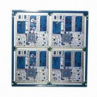 Quality 6-layer PCB with Half-plated Though Holes at Board Edge for sale