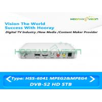 Wholesale Full HD DVB S2 Digital Satellite Receiver DC12V 1A 10W Operating With Smartcard from china suppliers