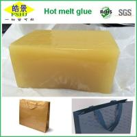 Wholesale Good Viscosity Psa Yellow Black Hot Glue Sticks For Hand Bag Bottom Sealing from china suppliers