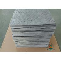 Wholesale Industrial 100% Polypropylene Fuel And Universal Pad With Perforated Grey from china suppliers