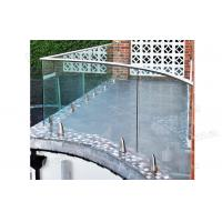 curved decking balustrade / balcony balustrade /glass veranda