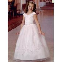 Wholesale China Flower Girl Dress/ Princess V-Neck Organza Flower Girl Dresses from china suppliers