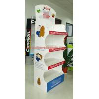 Buy cheap Customized Temporary pop floor displays , Recycled Point Of Purchase Display stand from wholesalers