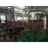 Wholesale 2 in 1 Grape Wine 750ml Bottle Filling Machine With Aluminum Cover Sealing Equipment from china suppliers