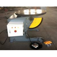 Wholesale Rotary Table Welding Positioner 0-120dgr tilt 1300mm Dia Precision Gearbox from china suppliers