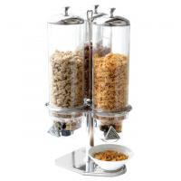 Wholesale Cereal Dispenser Commercial Buffet Equipment Dry Food Container 3 Head from china suppliers