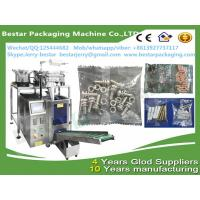 Buy cheap Fully Automatic Furniture accessories, screws, rubber, nuts, tubes parts, gaskets weighting counting packing machine from wholesalers