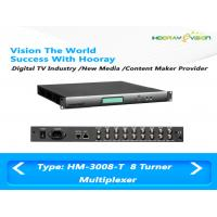 Wholesale 3Mbps EMM Bandwidth IP 16 Channel Multiplexer 1-800 Mbps PID Mapping from china suppliers