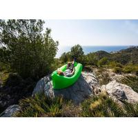 Wholesale Multi Color Inflatable Sleeping Bag Hangout Laybag Lazy Bag For Travelling / Camping from china suppliers