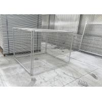 Wholesale DIY Metal Garbage Cage 14&84 Microns Hdg Cage Panels 1.5mx1.8mx1.8m from china suppliers