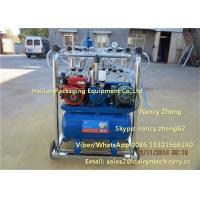 Wholesale Diesel Engine And Electric Motor Cow Milking Machine With Jetter Tray Washing from china suppliers