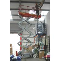 Wholesale Electrical Mobile aerial working platform 300KG , 500KG for workshop building site from china suppliers
