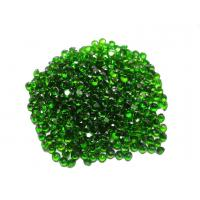 Wholesale Genuine Natural Green Chrome Diopside Round Loose Gemstones 1.75mm from china suppliers