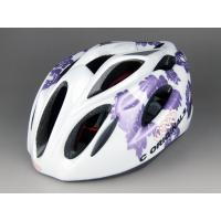 Wholesale Light Purple Adult Bicycle Helmets Women Washable With Adjustable Strap from china suppliers