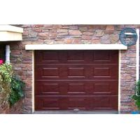 Wholesale Woodgrain Sectional Insulated Garage Doors Automatic With Finger Protection Panel from china suppliers