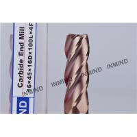 Wholesale TiSiN Coating , Carbide  End Mill , 16mm 2Flute 4 Flute , Carbide Cutter , upto HRC55     , from china suppliers