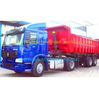 Wholesale SHMC 20 - 90t Semi Trailer Trucks 3 Axles Equipment Low Bed Trailer from china suppliers