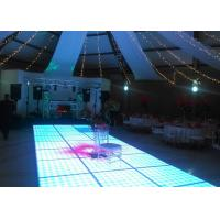 Wholesale Disco Interactive LED Dance Floor For Decoration , Wedding Dance Floor Hire Acrylic Material from china suppliers