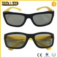 Quality polarized custom real d plastic passive 3d glasses for cinemas for sale