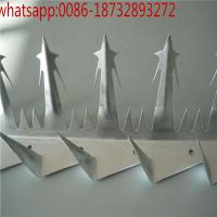 Wholesale wholesale ss/galvanized/pvc wall spike factory,home factory galvanized wall spikers/fence spikes from china suppliers