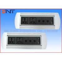 Wholesale Multi Functional Hotel Desktop Rotation Power Socket With Extension Connected Cables from china suppliers