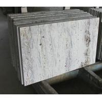 "Quality Gray Thick Stone Slab Countertop Stone Vanity Tops 108"" X 25.5"" X 2"" Size for sale"
