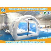 Wholesale Outdoor Camping Inflatable Air Tent , Clear Inflatable Lawn Tent Bubble from china suppliers