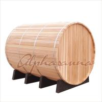 Wholesale Alpha Sauna Cedar Steam Sauna Kits With Harvia Elecrical Sauna Heater And Burning Stove Heater from china suppliers