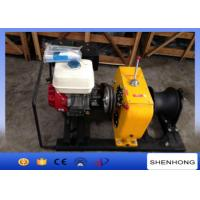 Wholesale 8 Ton HONDA Gas Engine Powered Winch / Belt Driven Hoisting Wnch from china suppliers