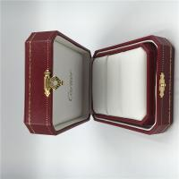Wholesale Cartier Pair Ring Box High Quality Gold Jewelry Diamond Ring Package Box with Cartier Certificate from china suppliers