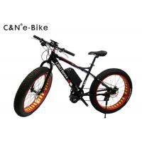 Wholesale Electric Sand Beach Bikes With Big Tires , 48v 500w Big Wheel Mountain Bikes from china suppliers