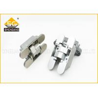 Wholesale Italy Type Concealed Internal Three Way Hinge For Hidden Door / Cupboard from china suppliers