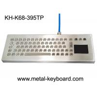 Wholesale Waterproof Ruggedized Keyboard , Metal Computer Keyboard With Stand Alone Design from china suppliers