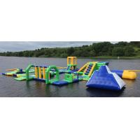 Wholesale Lake Floating Inflatable Water Park / Inflatable Water Games For Adults And Kids from china suppliers