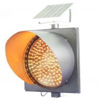 Wholesale Best seller solar yellow led flashing warning light for traffic from china suppliers