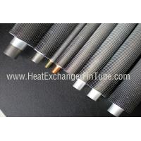 Wholesale B338 Gr. 2 SMLS Titanium Tube , Spiral Aluminum Extruded Fin Tube 1.245mmWT from china suppliers