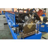 Wholesale 15KW Storage Rack Roll Forming Machine With Hydraulic Cutting / Punching from china suppliers