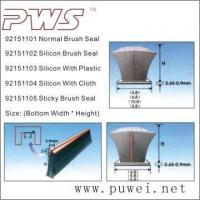 Wholesale Brush Seal, Silicon Brush Seal, Weather Strip from china suppliers
