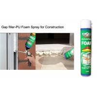 Wholesale Multi - Purpose B2 Fireproof Foam Filler Spray , Off White High Density Spray Foam from china suppliers