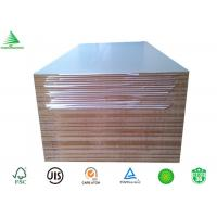 Wholesale China factory E2/E1/CARB P2 high glossy white laminated melamine mdf board from china suppliers