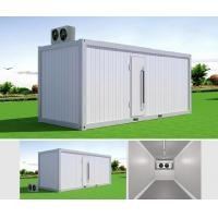 Buy cheap 20FT PU Sandwich Panel Portable Container Cool Storage Room House Iso Standard from wholesalers