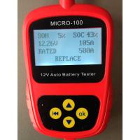 Wholesale Car Battery Tester MICRO-100 Digital Battery Tester Battery Conductance & Electrical Syste from china suppliers
